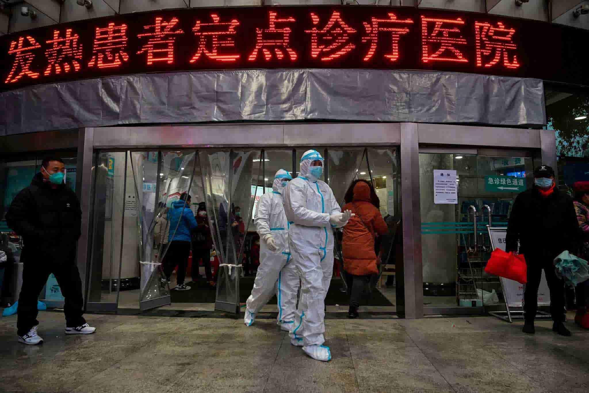 10 Potret Suasana Kota Wuhan Setelah Serangan Virus Corona