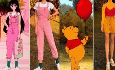 10 Copy Style Karakter Pop Dari Winnie the Pooh Sampai Sailormoon, Mirip Aslinya!