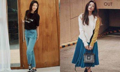 Bak Remaja di Usia 40-an, 10 Ide Outfit Kasual Ala Jun Ji Hyun