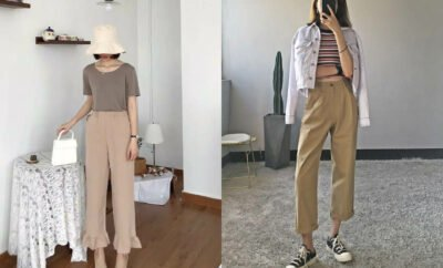 Bak Unnie Drakor, 10 OOTD Celana Kream Ala Korea yang Mudah Ditiru