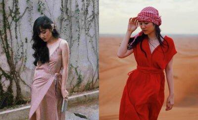 Cantik dan Elegan, 10 Potret Febby Rastanty dengan Long Dress