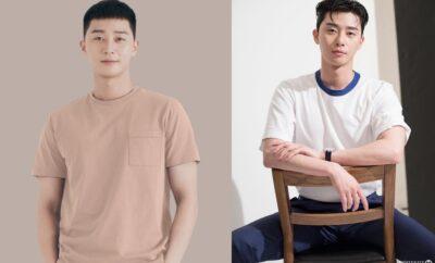 10 Potret Park Seo Joon Saat Kenakan Kaos. Tetap Keren dan Macho!