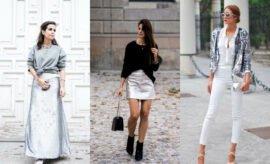 Stylish dan Kekinian, 10 Inspirasi Outfit Warna Silver yang Buat Tampilan Lebih Glamour