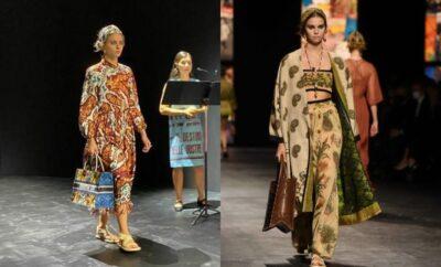 10 Potret Busana dengan Kain Endek Bali yang Diangkat Christioan Dior di Paris Fashion Week