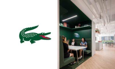 Minimalis dengan Nuansa Hijau, 10 Potret Kantor Lacoste di Hong Kong