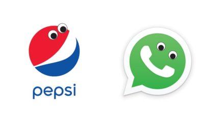 10 Logo Terkenal yang Diberi Mata, Imut Banget Jadinya
