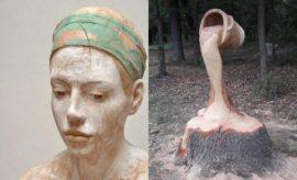 Sering Dikira Beneran, 10 Karya Patung Kayu Ini Tampak Realistik