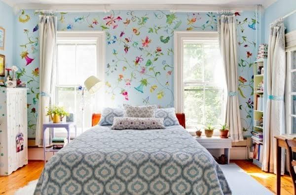 10 Floral Wallpaper yang Bikin Ruangan Selalu Cerah