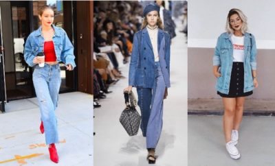 Dijamin Trendy, 10 OOTD Double Denim yang Kekinian