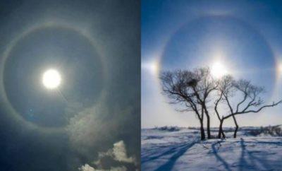 Fenomena Halo Matahari, Cincin Cahaya di Langit yang Menakjubkan