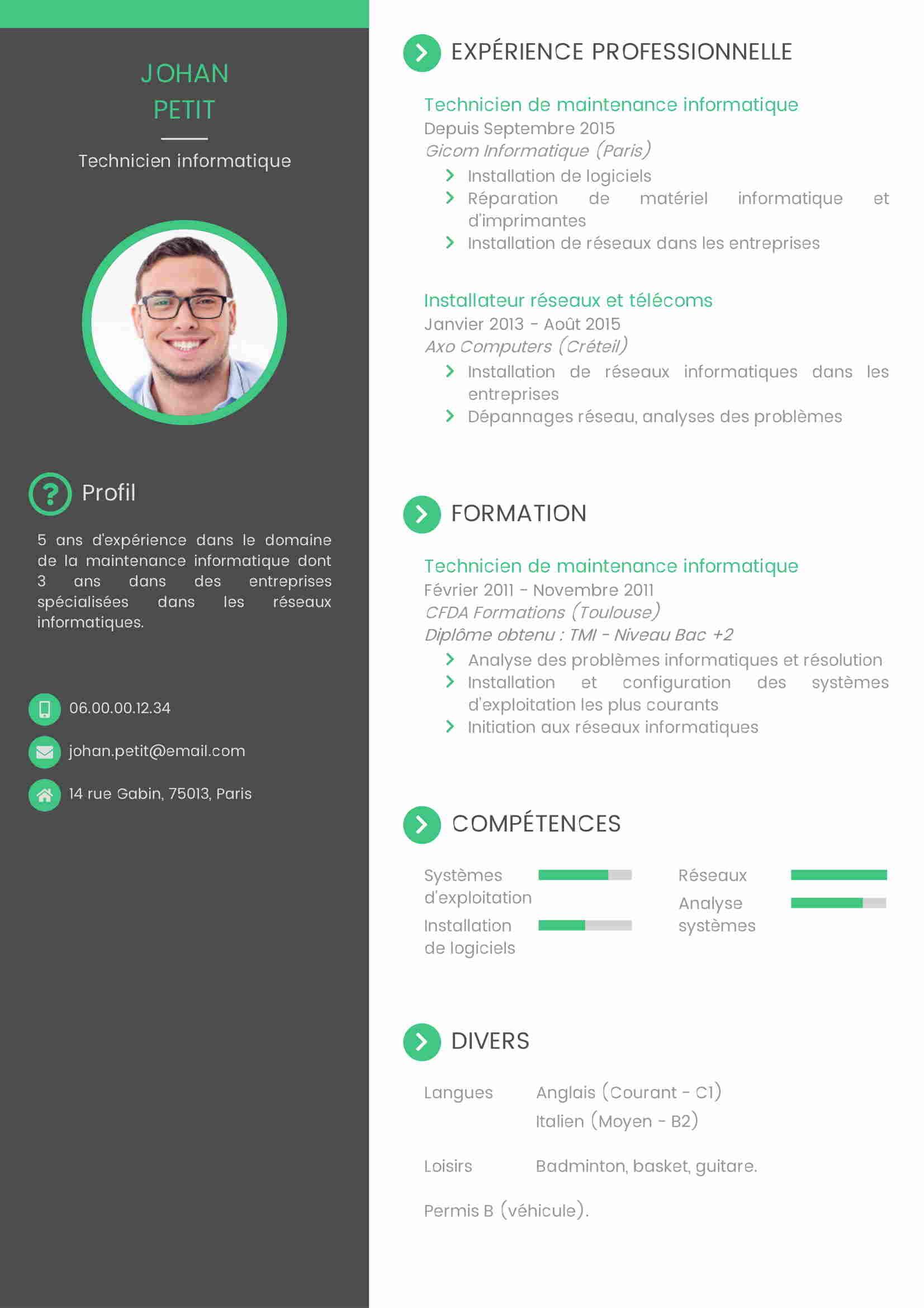 Menarik HRD, 10 Ide Contoh CV untuk Fresh Graduate