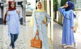 Fresh, 10 Ide Warna Jilbab yang Coock untuk Baju Biru Muda